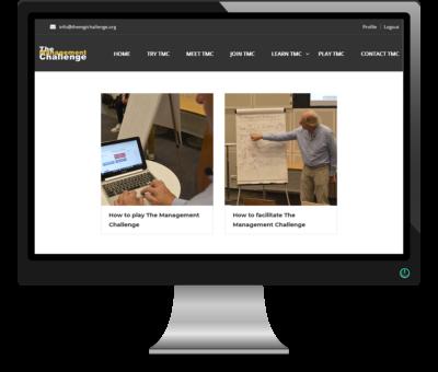 Begeleid zelf een managementsimulatie - Online leeromgeving The Management Challenge
