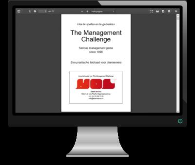 Begeleid zelf een managementsimulatie - Persoonlijke deelnemershandleiding The Management Challenge