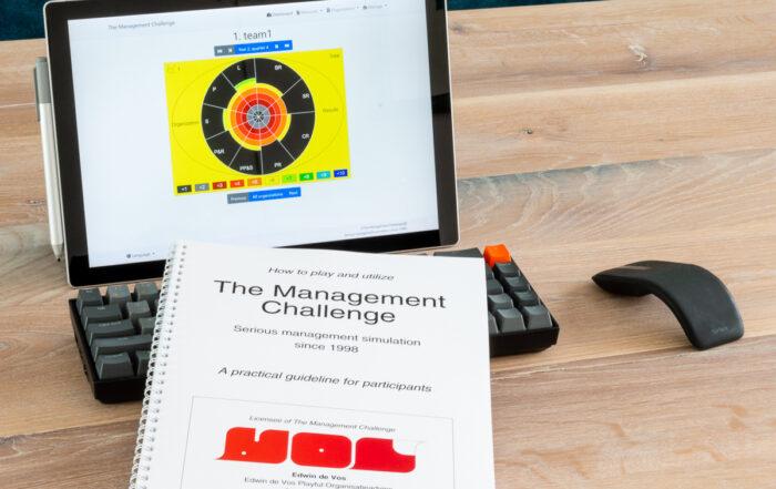 Begeleid The Management Challenge zelf