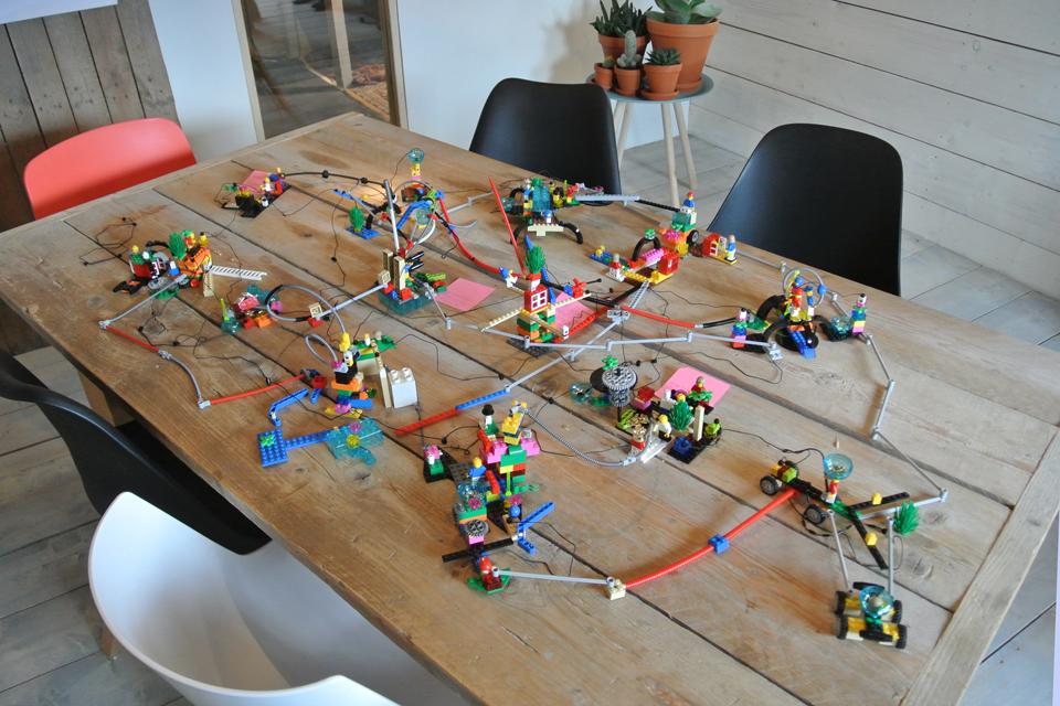 Impressie LEGO SERIOUS PLAY workshop
